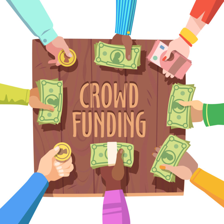Learning through crowdfunding